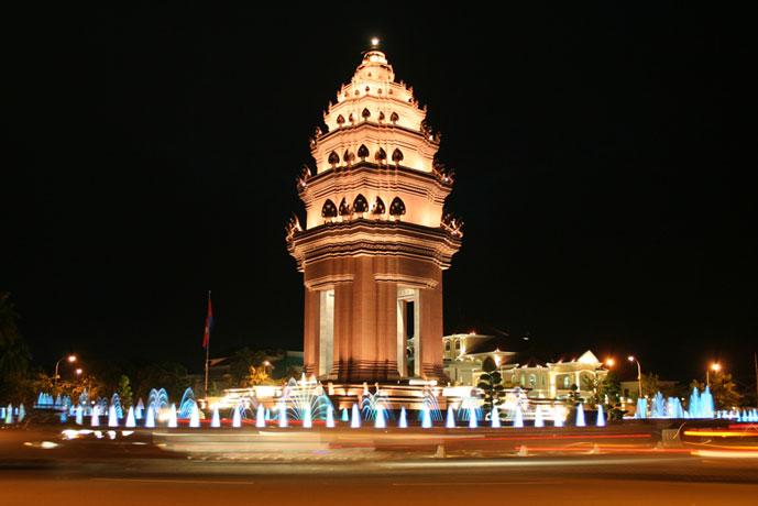 Monument d'Indépendance, Phnom Penh, Cambodge