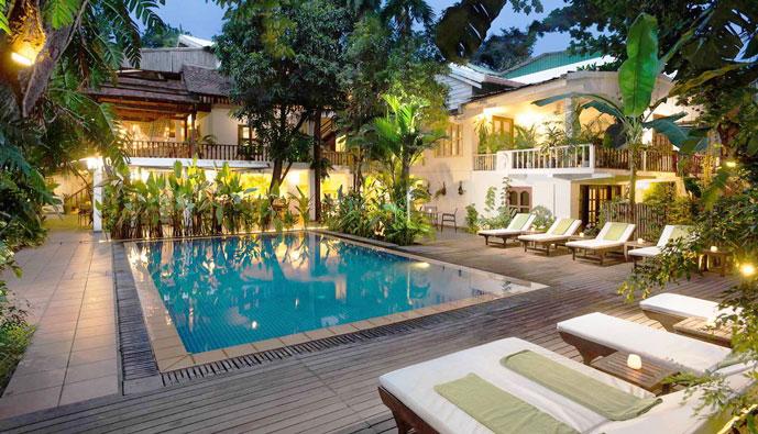 Villa Langka 4*, Phnom Penh, Cambodge