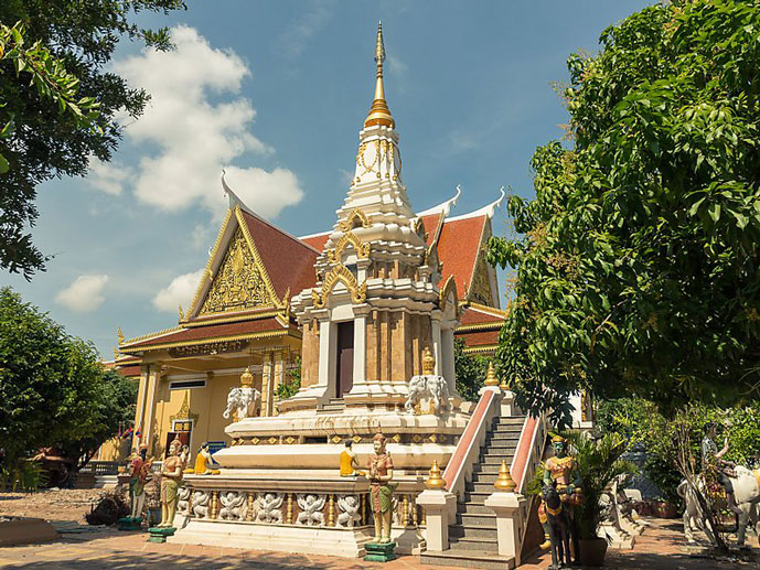 Wat Botum, Phnom Penh, Cambodge