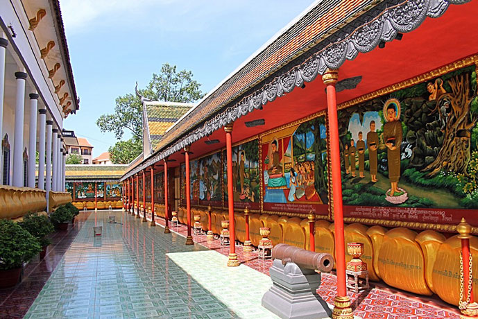 Wat Damnak, Siem Reap, Cambodge
