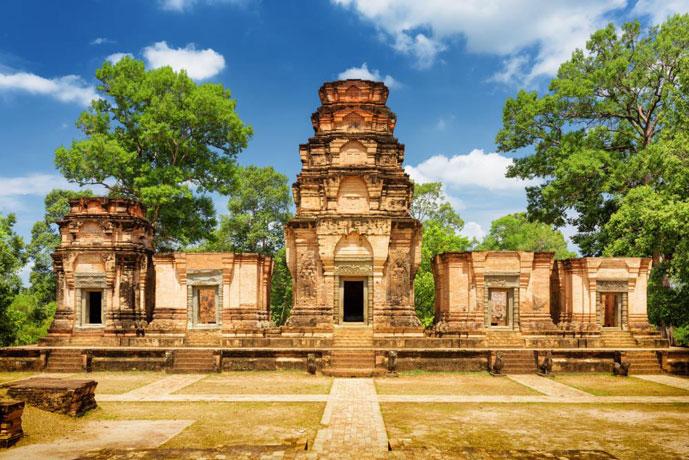 Prasat Kravan, Siem Reap, Cambodge