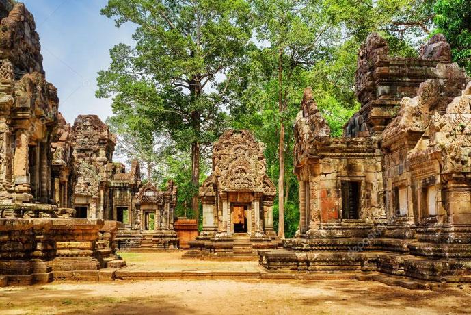 Thommanon, Siem Reap, Cambodge