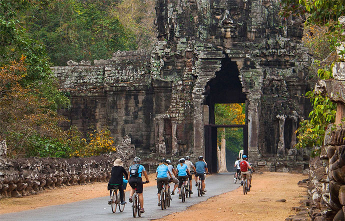 Tour de vélo à Siem Reap