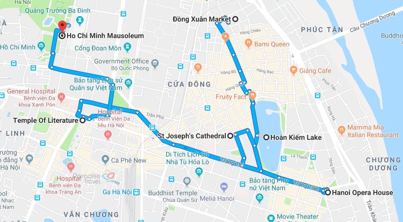 Attraction de Hanoi