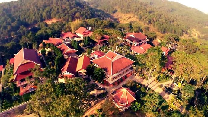 Monastère de Truc Lam, Dalat, Vietnam