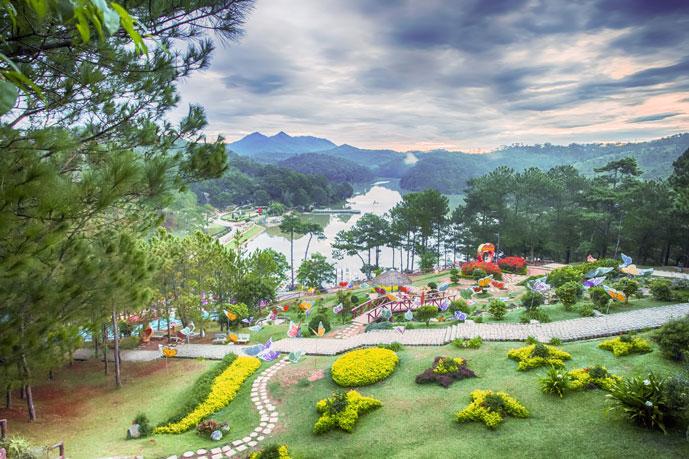 Vallée d'amour, Dalat, Vietnam