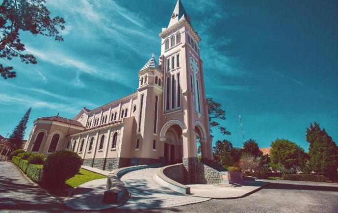 Cathédrale de Da Lat, Vietnam