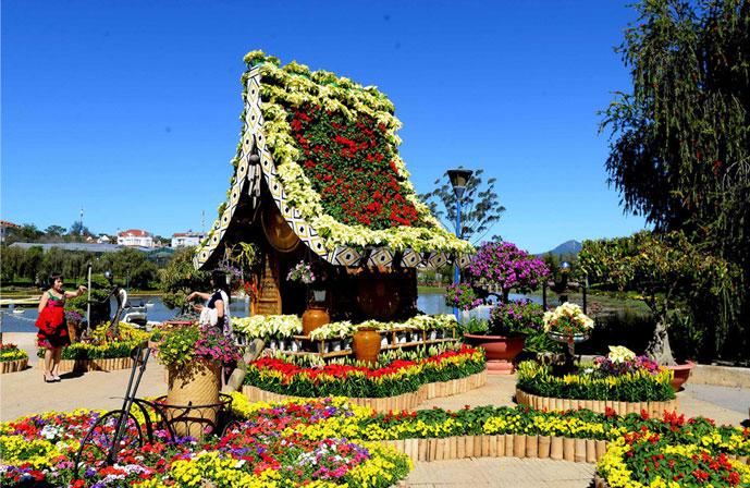 Festival de fleurs de Dalat, Vietnam