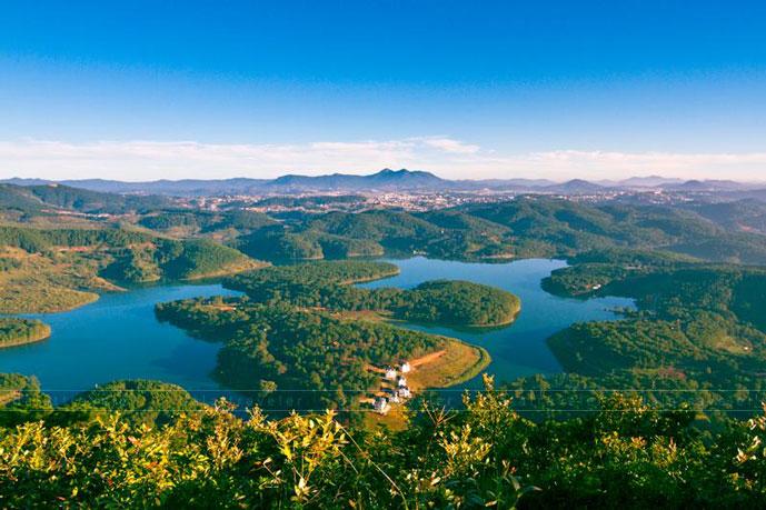 Lac de Tuyen Lam, Dalat, Vietnam