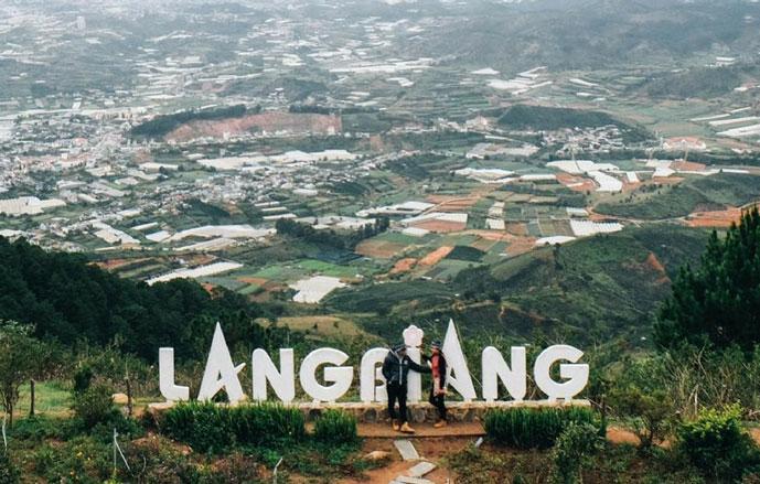 Montagne Lang Biang, Dalat, Vietnam