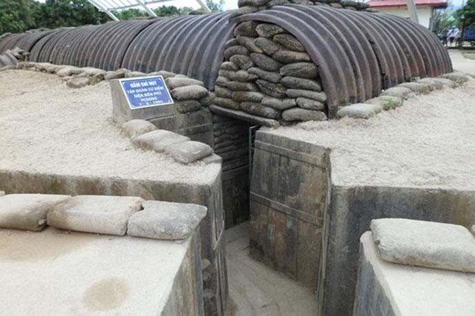Bunker du Général de Castries, Dien Bien Phu, Vietnam