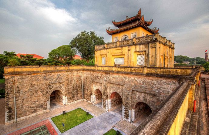 Citadelle impériale de Thang Long, Hanoi, Vietnam