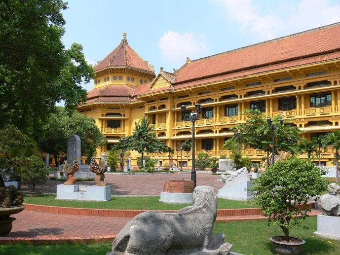 Musée national d'histoire vietnamienne, Hanoi, Vietnam