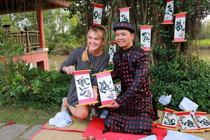 Crous de calligraphie, Hanoi, Vietnam