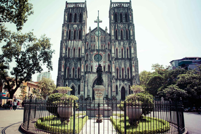 Cathédrale Saint-Joseph, Hanoi, Vietnam