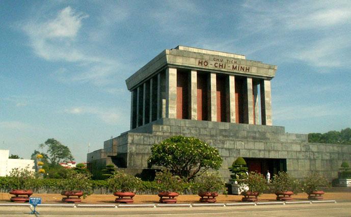 Mausolée de Ho Chi Minh, Hanoi, Vietnam
