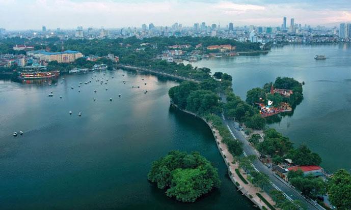 Lac de l'Ouest, Hanoi, Vietnam