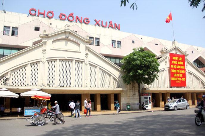 Marché Dong Xuan, Hanoi, Vietnam