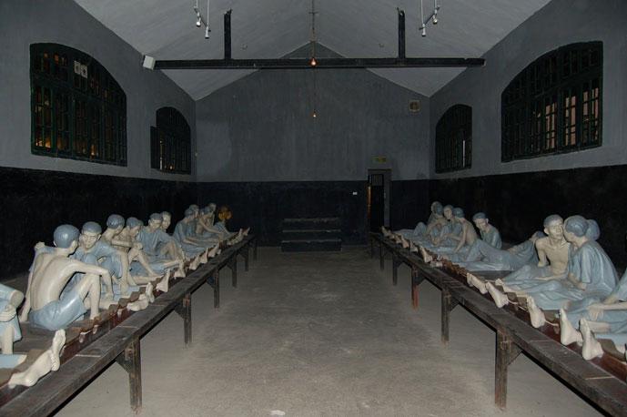 La prison de Hoa Lo, Hanoi, Vietnam
