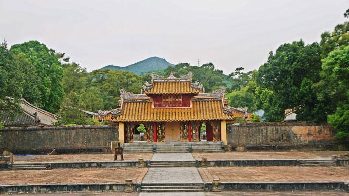 Tombeau de Minh Mang, Hue, Vietnam