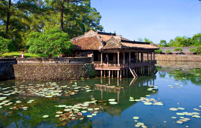 Tombeau de Tu Duc, Hue, Vietnam