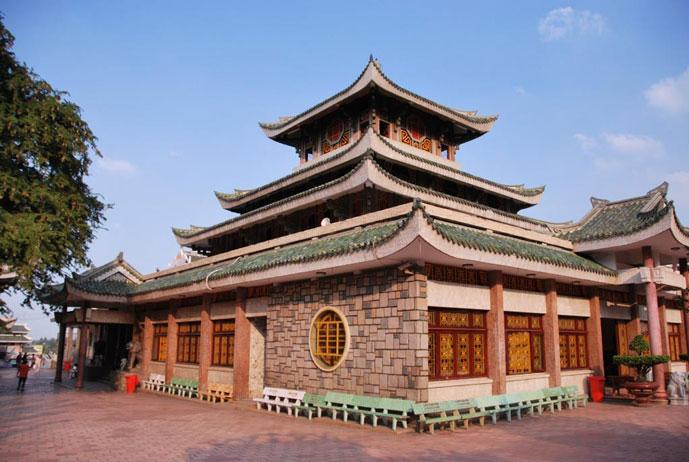 Temple de Ba Chua Xu, Chau Doc, Vietnam