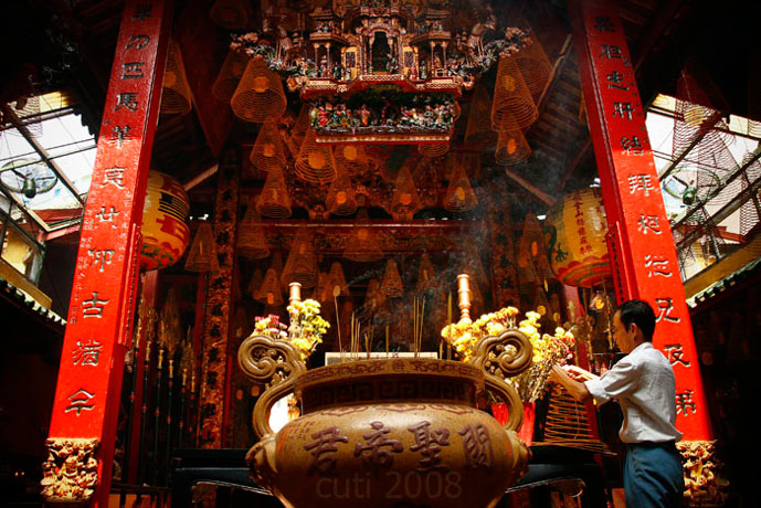 Pagode de Ong, Can Tho, Vietnam