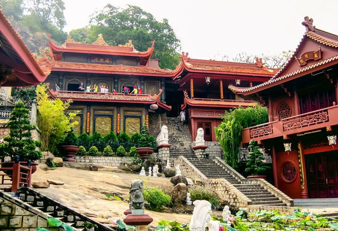 Pagode de Hang, Chau Doc, Vietnam