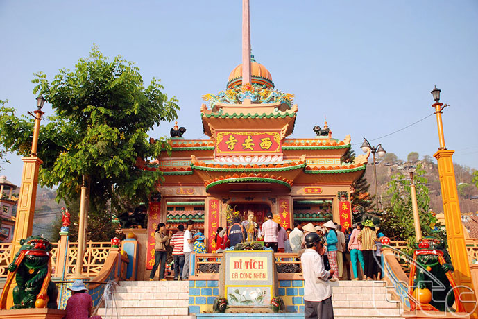 Pagode Tay An, Chau Doc, Vietnam