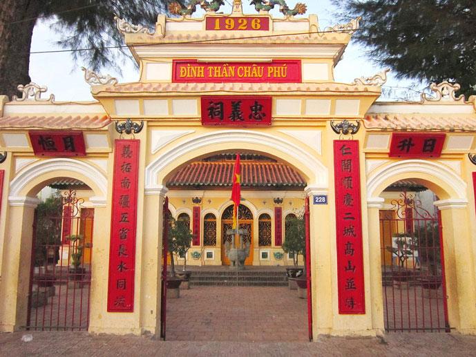 Temple de Chau Phu, Chau Doc, Vietnam