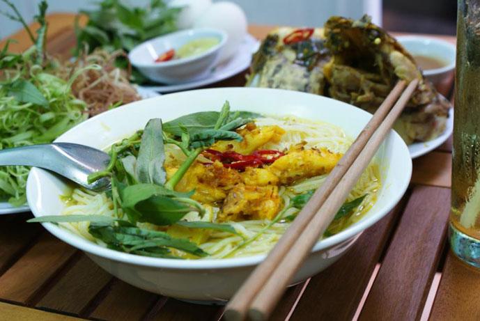 Vermicelles de poisson Chau Doc