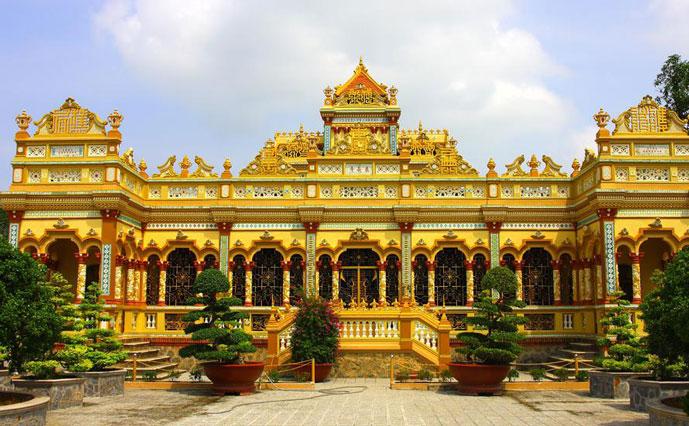 Pagode de Vinh Trang, My Tho, Vietnam