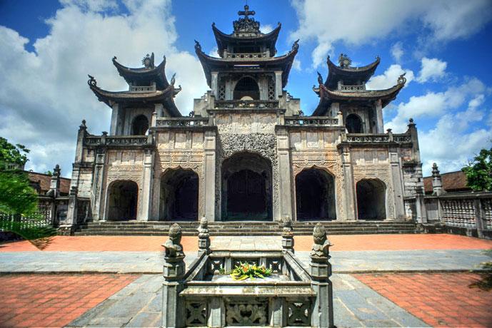 Cathédrale Phat Dien, Ninh Binh, Vietnam