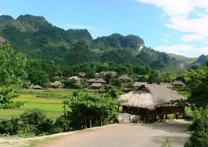 Village de Muong, Cuc Phuong, Ninh Binh