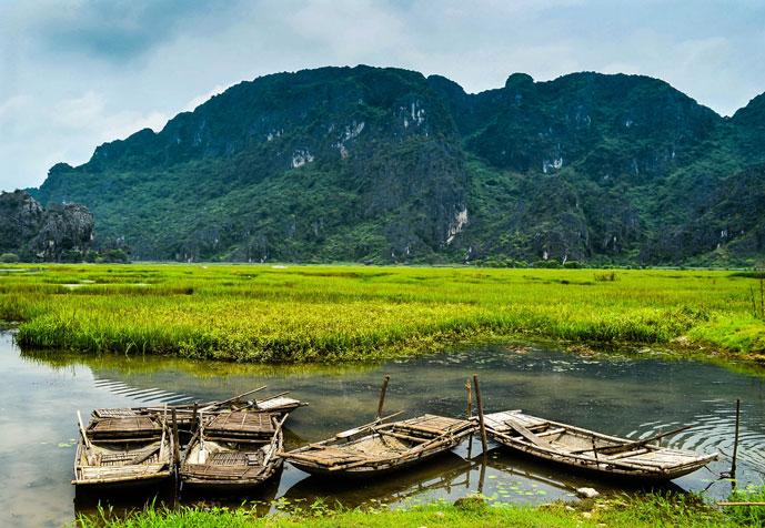 Kenh Ga, Ninh Binh, Vietnam