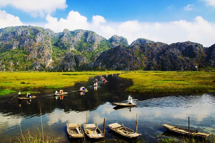 Van Long, Ninh Binh, Vietnam