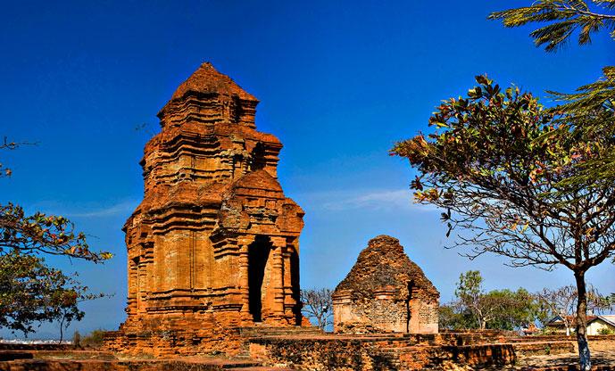 Temple Po Shanu, Phan Thiet, Vietnam