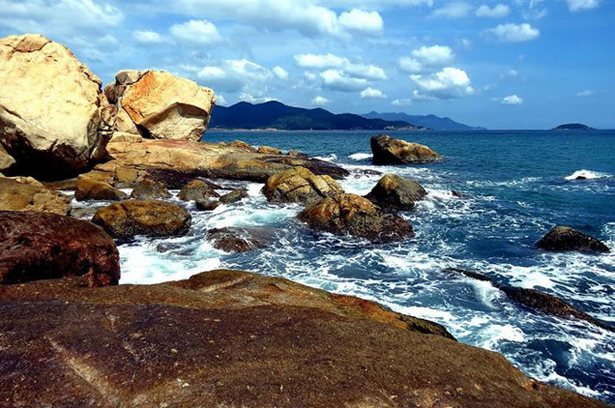 Ile de Ghenh, Muine, Phan Thiet, Vietnam