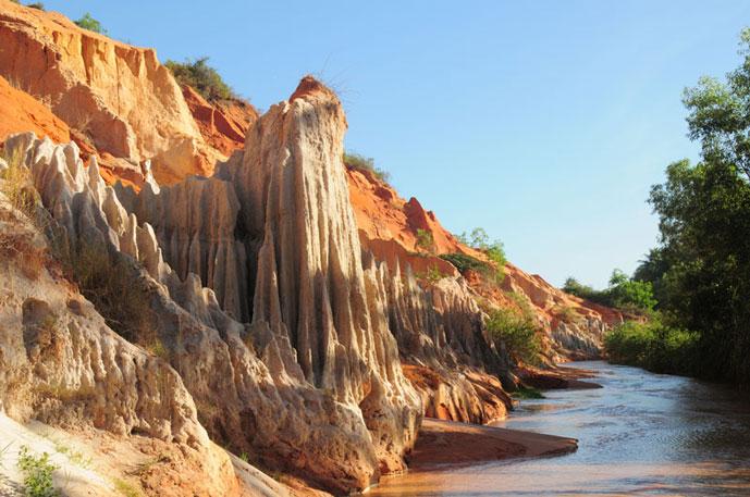 Ruisseau de fée, Muine, Phan Thiet, Vietnam