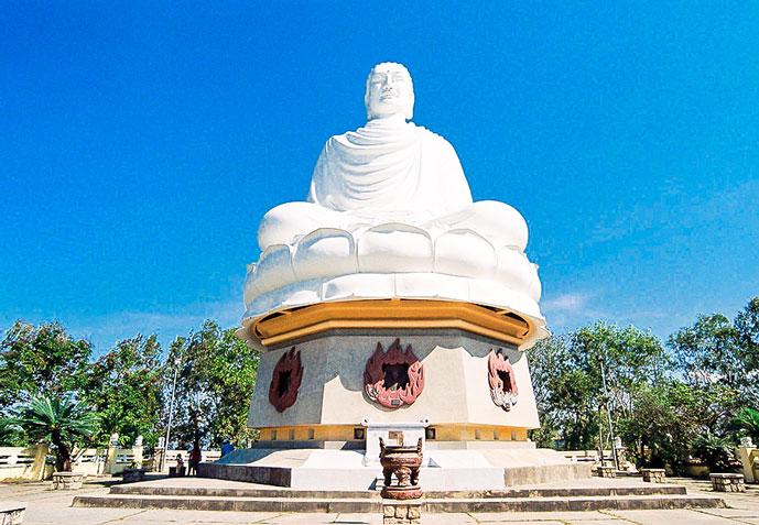 Pagode de Long Son, Nha Trang, Vietnam