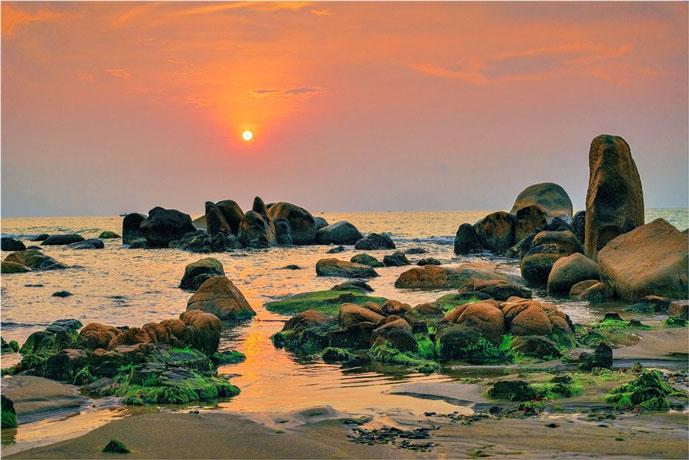 Rocher de Co Thach, Phan Thiet, Vietnam