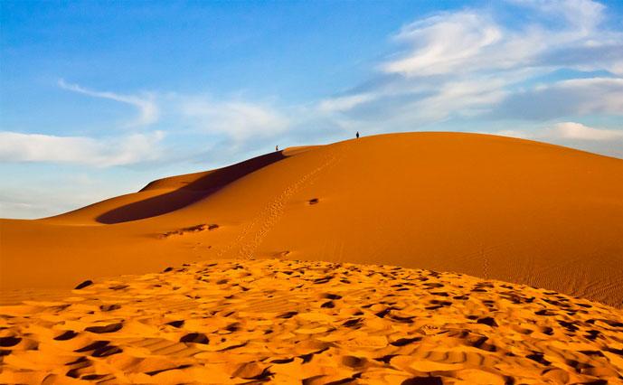 Dune de sable, Muine, Phan Thiet, Vietnam