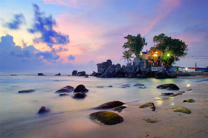 Rocher de Dinh Cau, Phu Quoc, Vietnam