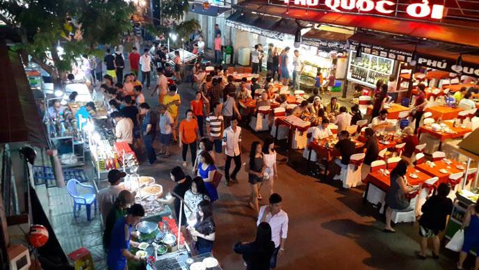 Marché de nuit, Phu Quoc, Vietnam