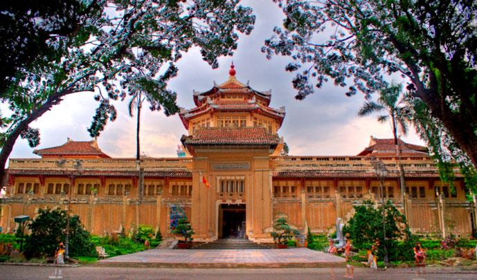 Musée de l'histoire du Vietnam, Saigon, Vietnam