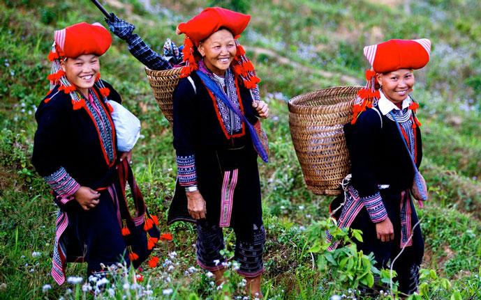 Ethnie Dao rouge, Sapa, Vietnam