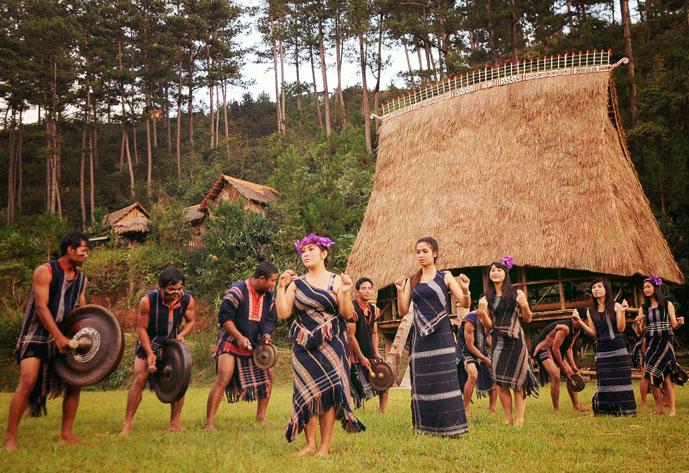 Ethnie à Buon Ma Thuot, Vietnam