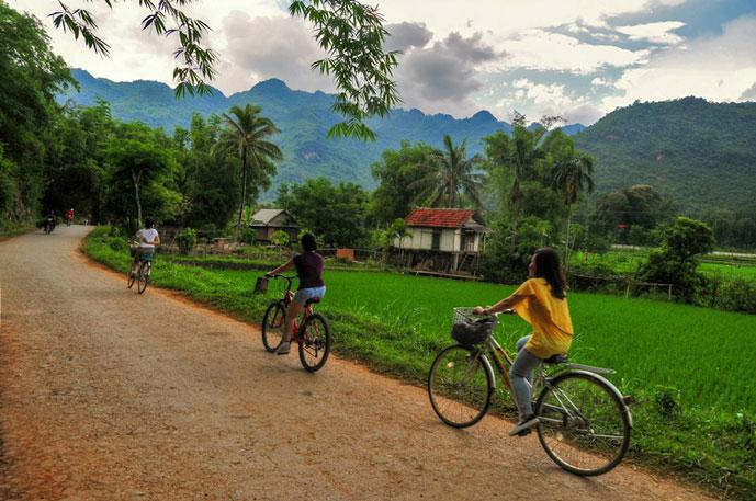 Lac village, Mai Chau, Vietnam