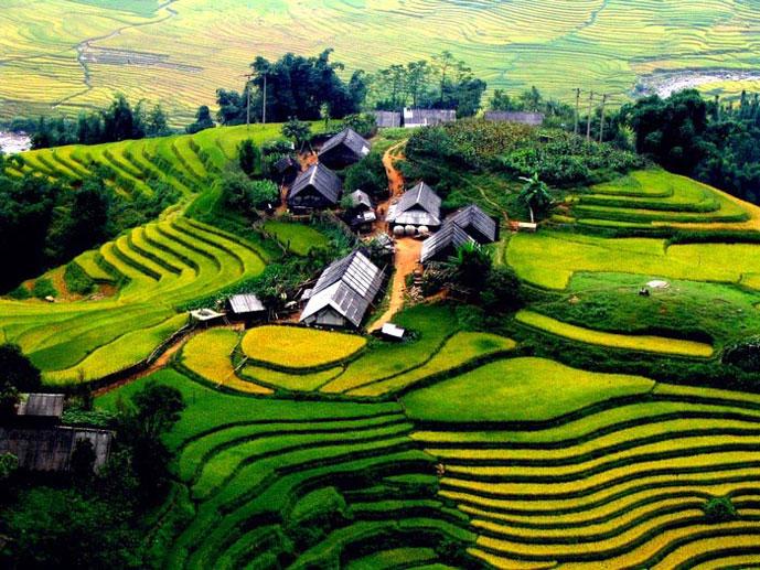 Lao Chai, Sapa, Vietnam