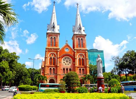 Notre Dame Cathedral - Ho Chi Minh City - Saigon